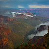 The Grand Canyon Walls Of Red - North Rim, Grand Canyon Nat Park, Arizona