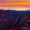 Grand Canyon After Sunset From Toroweap - Toroweap Overlook, Grand Canyon Nat Park, Arizona