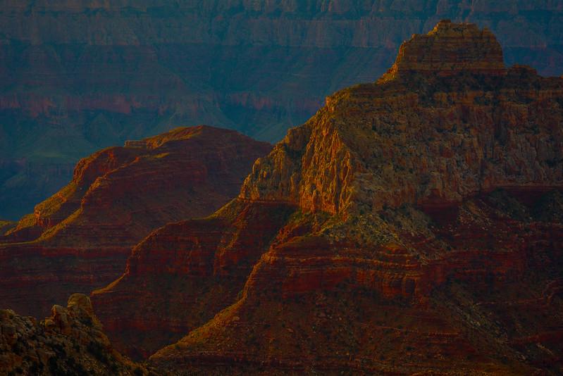 The Throne Dressed In Light - North Rim, Grand Canyon Nat Park, Arizona