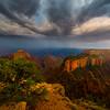 Wotan's Throne Thunder Clouds - North Rim, Grand Canyon Nat Park, Arizona