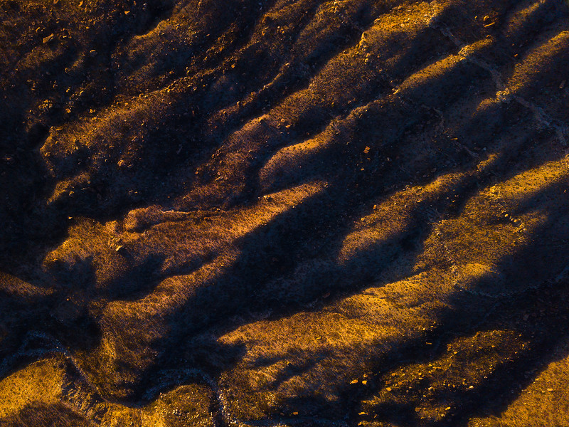 Textures And Light In The Mountain Crevases - Guadalupe Mountains National Park and Chihuahuan Desert, West Texas