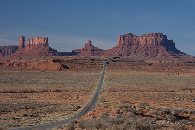 The road where Forrest Gump stopped running. Watch the movie again, to see for yourself.