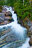 Upper tier of Ruby Falls