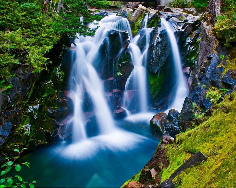 Lower tier of Ruby Falls