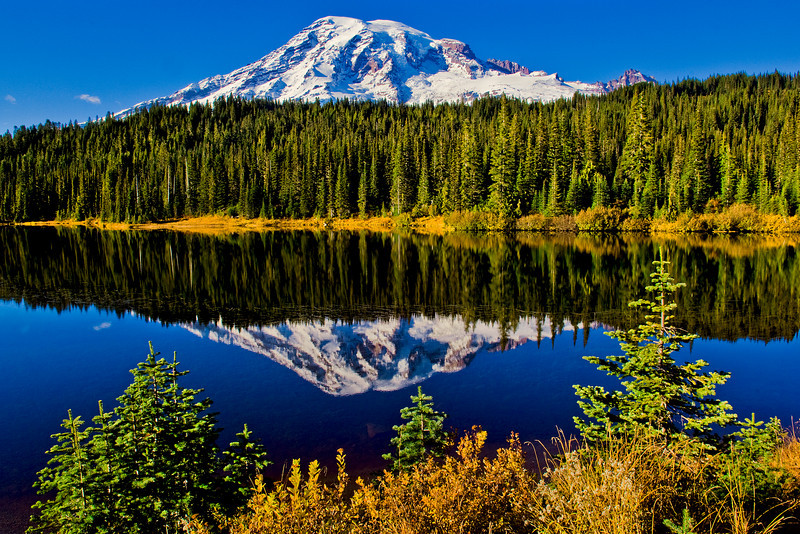 Reflection Lake - Mount Rainier NP
