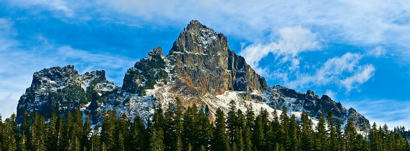Pinnacle Peak, Tatoosh Range, Mount Rainier NP, Washington