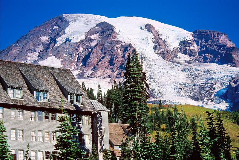 Mount Rainer and Paradise Inn