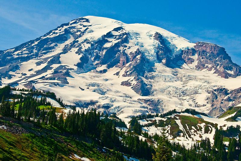 Mount Rainier, Mount Rainier National Park, WA