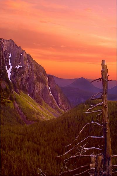 Tatoosh Sunset - Mount Rainier NP