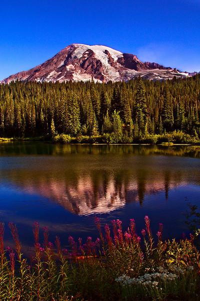 Reflection Lake Sunrise - Mount Rainier NP