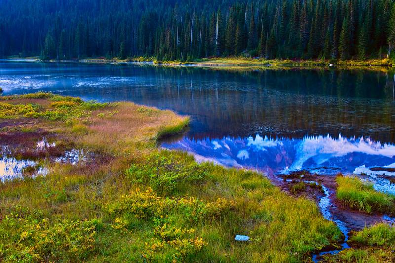 Reflection Lake in Mount Rainier National Park