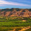 Following The Curvy Little Missouri River - Theodore Roosevelt National Park, North Dakota