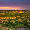 U-Shaped Bend Overlook Of The Badlands - Theodore Roosevelt National Park, North Dakota