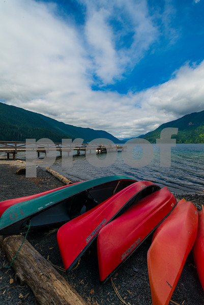 Images from Lake Crescent in Olympic National Park along the Highway 101 Olympic National Park, Washington