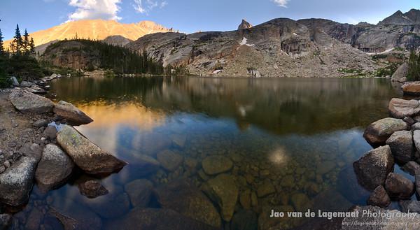 Black Lake panorama