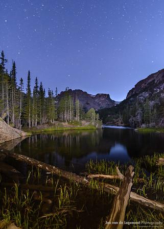The Loch at dusk