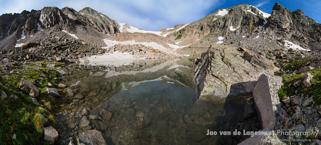 Jade Pool reflection