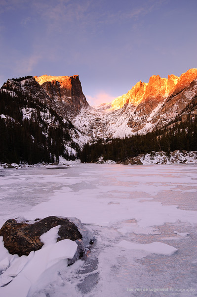 Dream Lake sunrise