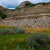 Hoodoo Base In Badlands - Theodore Roosevelt National Park, North Dakota