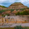 Taple Top Hoodoos - Theodore Roosevelt National Park, North Dakota