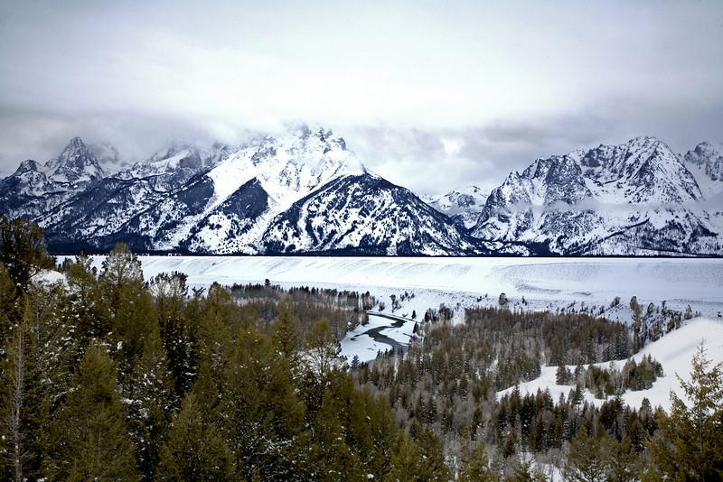 Snake River HDR  Grand Teton's