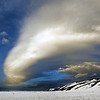 cloud Panorama near the Grand tetons