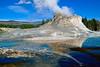Castle geyser - Yellowstone NP