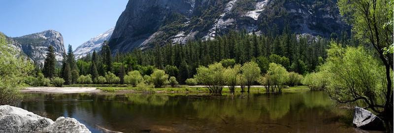 Mirror Lake in May, Yosemite