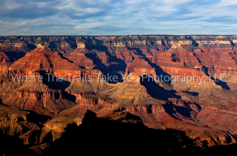 20  Late-Afternoon View Upon Arrival, Grand Canyon National Park, Arizona