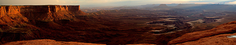 Islands in the Sky at Canyonlands NP, Utah