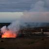Kiluea Crater At Dusk - Hawaii Volcanoes National Park - Hawaii Island