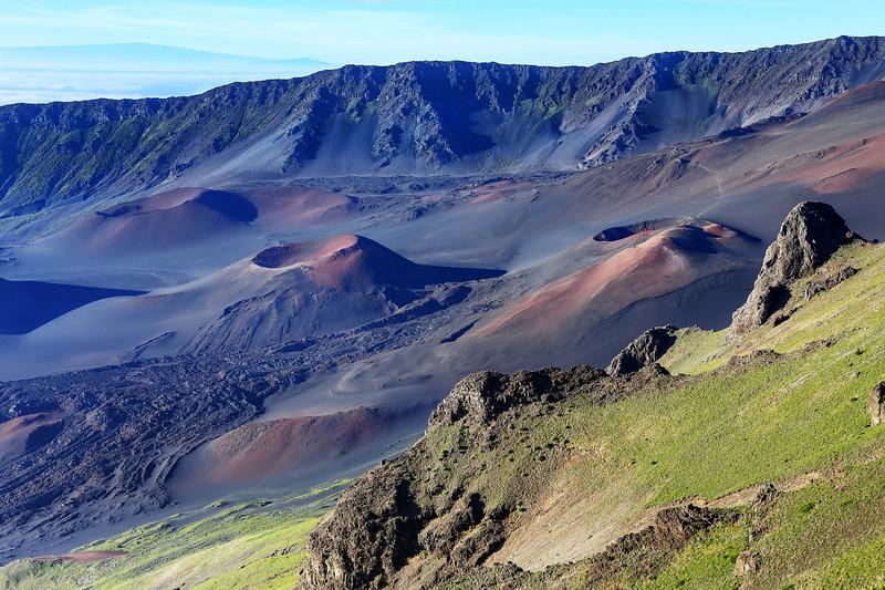 View From Kalahaku Overlook - Haleakala National Park - Maui, HI