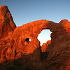Turret Arch - Arches National Park - UT