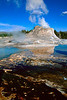 Castle geyser - Yellowstone NP