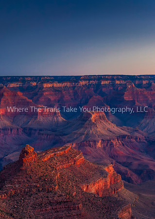 17  Sunrise On The South Rim, Grand Canyon National Park, Arizona