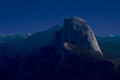 Half Dome at Night - 2AM