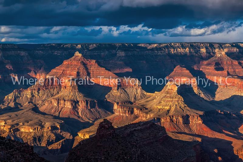 70.  Canyon Evening Light