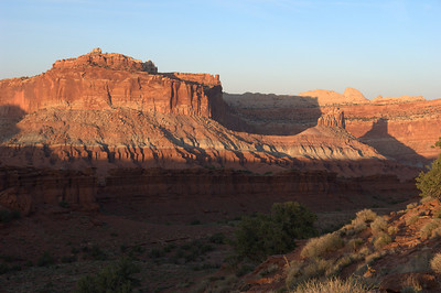 Sunset - Capitol Reef NP
