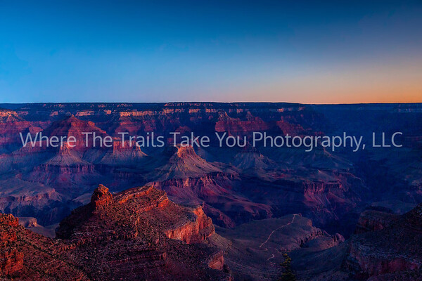 16  Sunrise On The South Rim, Grand Canyon National Park, Arizona