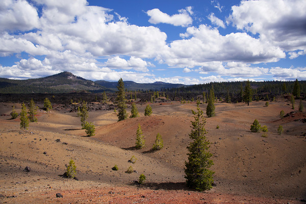The Painted Dunes in Lassen Volcanic National Park