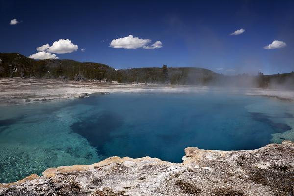 Sapphire Pool Yellwstone National Park