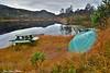 Haustemning ved Eikelandsvatnet