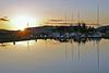 Solnedgang fra Skagen på Vinnes