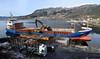 Tømmerkaien i Eikelandsosen<br /> <br /> Timber dock in Eikelandsosen