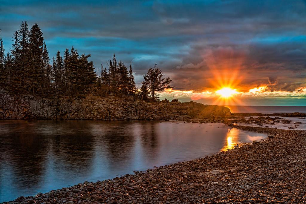 Sunrise over Ellingson
