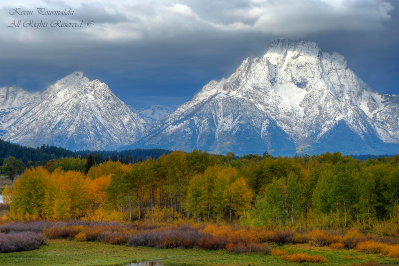 Oxbow Bend. Grand Teton National Park, Wyoming.