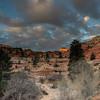 Sunrise in Zion National Park, Utah.