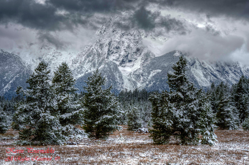Teton Range. Grand Teton National Park, Wyoming.