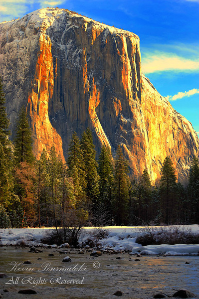 El Capitan.  Yosemite National Park, California