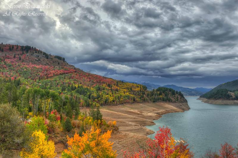 Palisades Reservoir, Idaho.